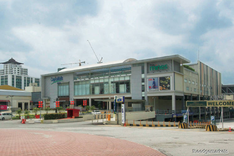 Filepic of The Mines mall. Mall operators are requesting for subsidies from the government for utilities charges, tax reliefs and a temporary suspension of statutory contributions. <em>The Edge file photo</em>