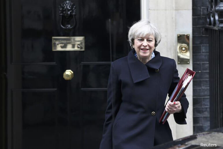 UK's May seeks Florentine renaissance for deadlocked Brexit talks   The Edge Markets
