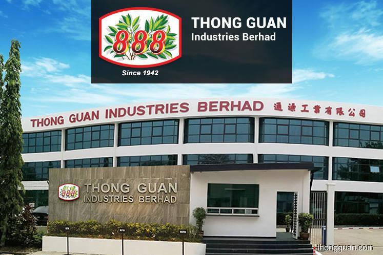 Thong Guan FY19 core net profit above expectations