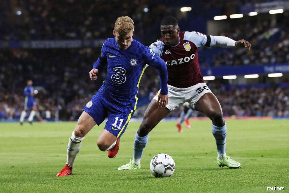 Chelsea edge past Villa on penalties, Man Utd out of League Cup