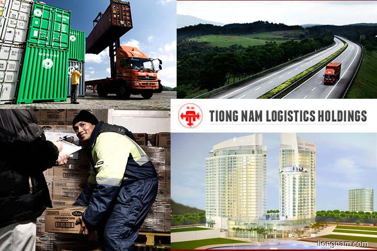 Tiong Nam Logistics falls 2.97% as 1Q earnings shrink 60%
