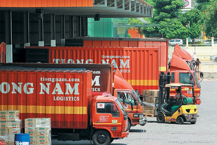 Logistics segment expected to support Tiong Nam's profit