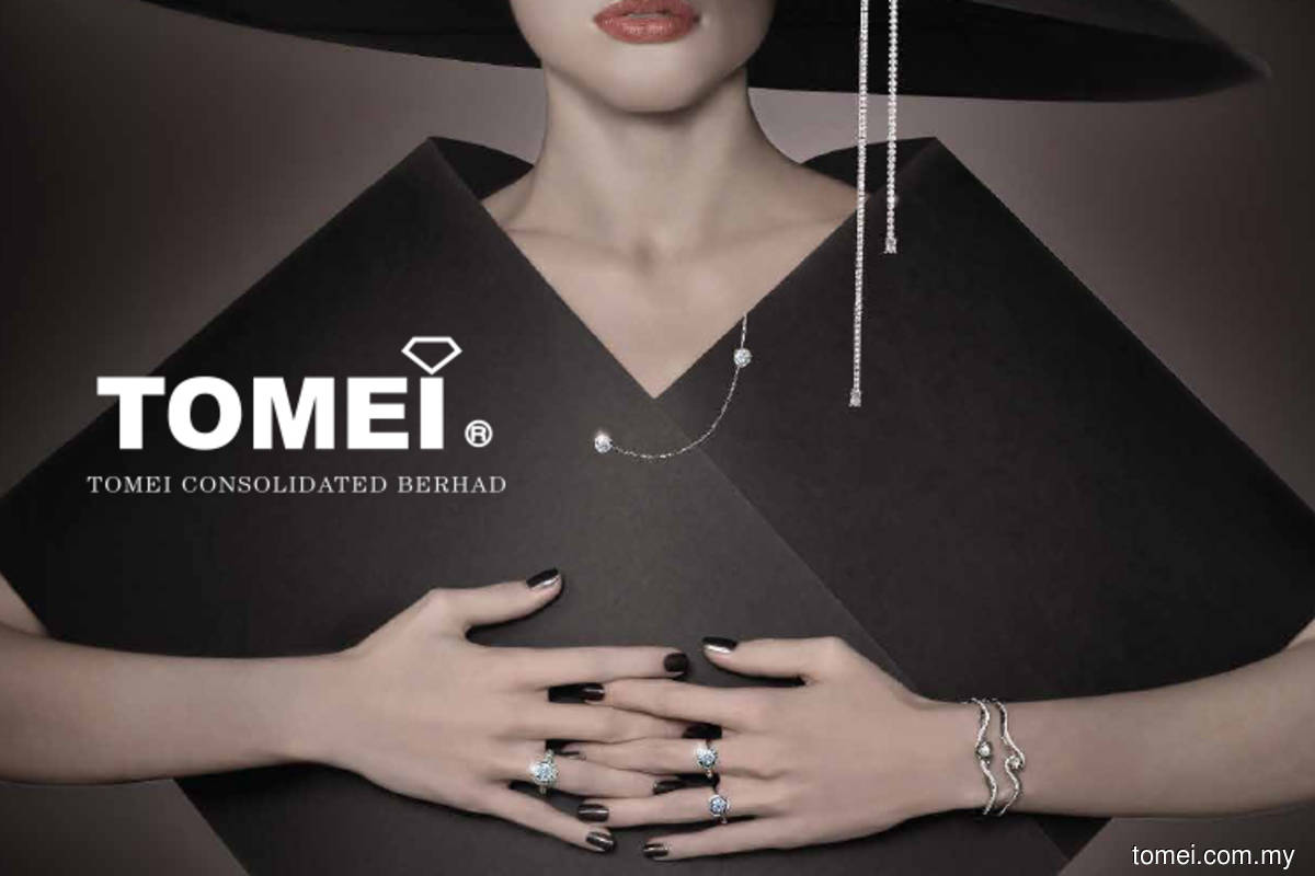 Tomei's 1Q net profit triples y-o-y as Malaysians buy more gold jewellery