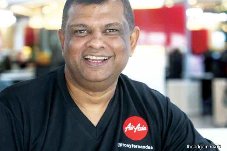 AirAsia's Fernandes hails MAHB's COO appointment