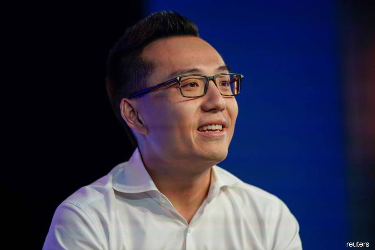Tony Xu, co-founder and CEO of DoorDash, speaks at the WSJTECH live conference in Laguna Beach, California, US on Oct 22, 2019. (Photo credit: Mike Blake/Reuters file photo)
