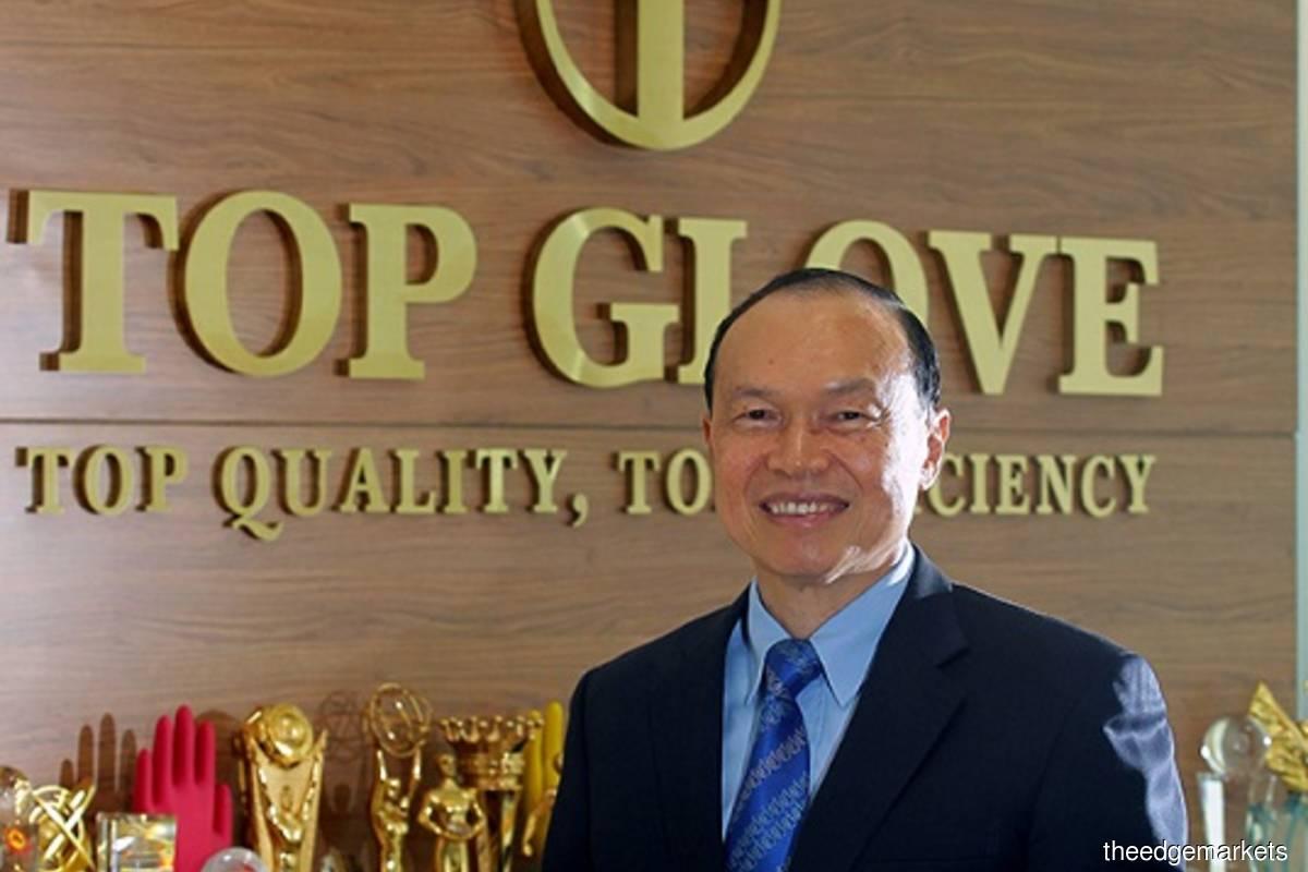 Top Glove Corp Bhd executive chairman Tan Sri Dr Lim Wee Chai