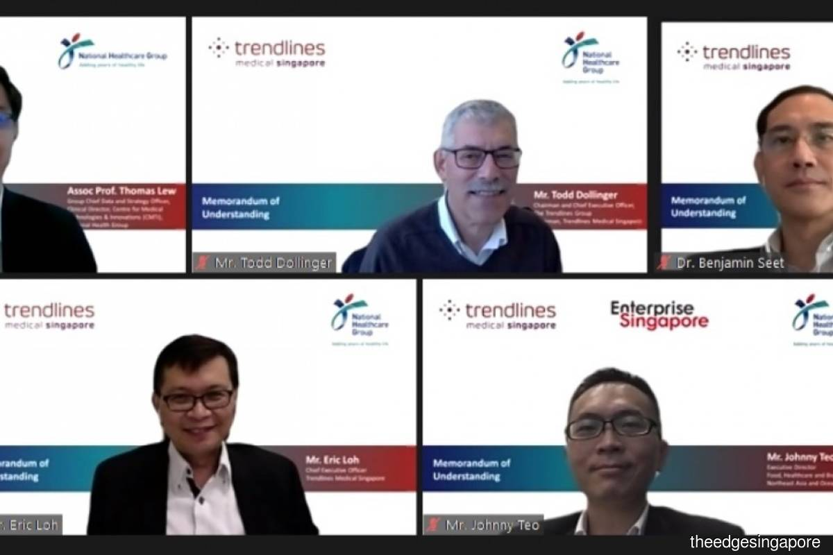 Trendlines Medical Singapore renews three year MoU with National Healthcare Group with view towards facilitating greater exchange of knowledge