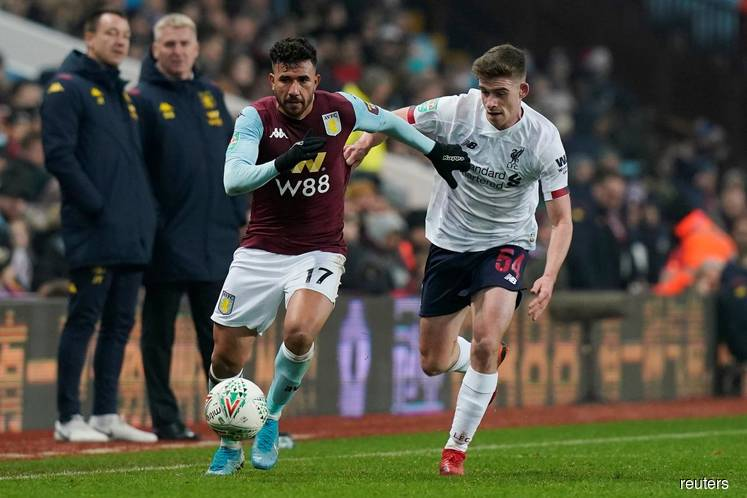 Villa beat Liverpool's kids to reach League Cup semis