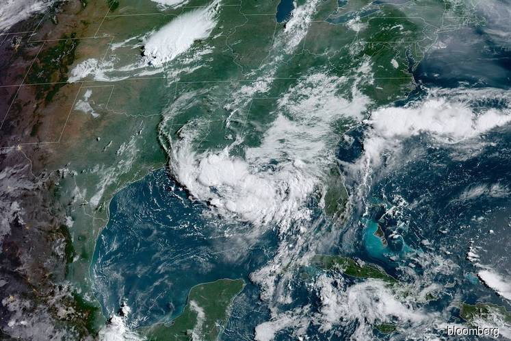Storm Barry strengthens as it approaches rain-soaked Louisiana coast