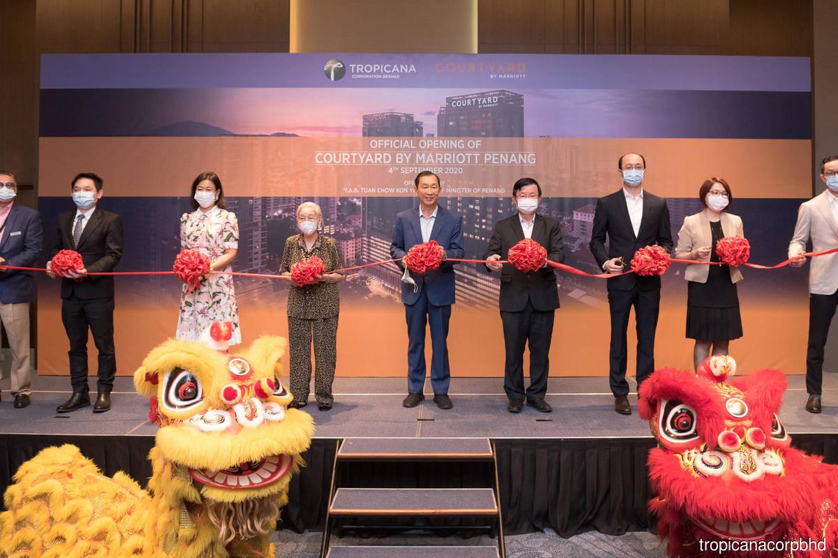 Tropicana debuts Courtyard by Marriott Penang