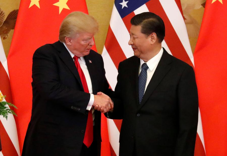 Trump prepares for 'productive' talks with Xi on trade war