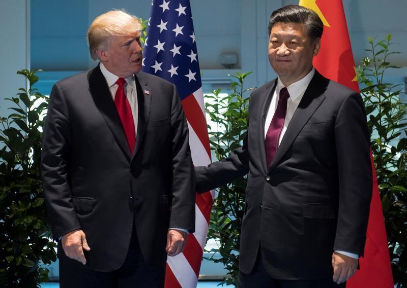 Trump says talked with China's Xi on trade deal, Hong Kong, North Korea