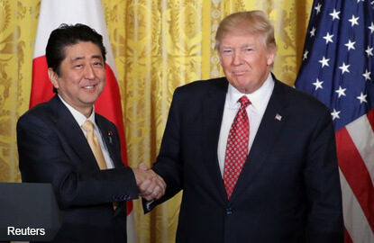 Things might be OK if Trump borrows from Abe