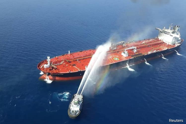 U.S. Blames Iran for Oil Tanker Attacks as Gulf Tensions Climb
