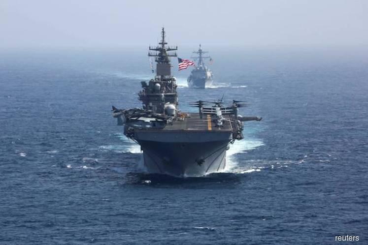U.S., Japan, S.Korea, Australia hold first naval drills in Western Pacific