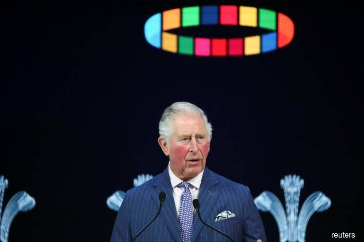 DAVOS: UK's Prince Charles says climate change is humanity's greatest threat