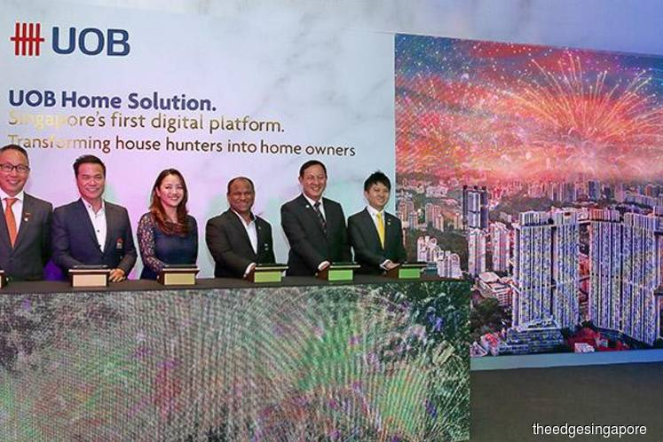 UOB partners top 4 property agencies to build fully digital home loan solution