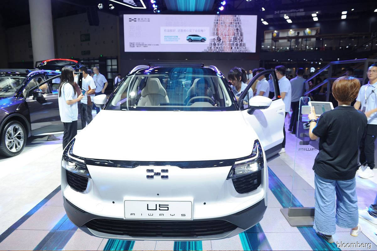Chinese electric-vehicle maker Aiways explores 2021 U.S. IPO