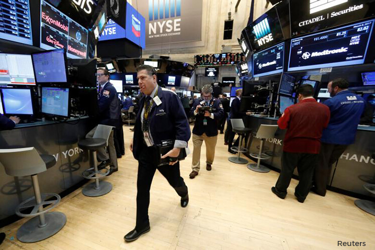 Wall St dips as investors await outcome of U.S.-China trade talks