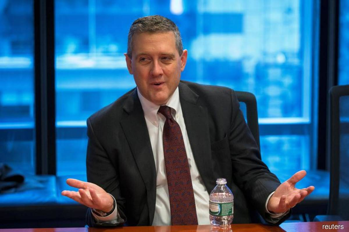 St. Louis Fed President James Bullard (Filepix by Lucas Jackson/Reuters)