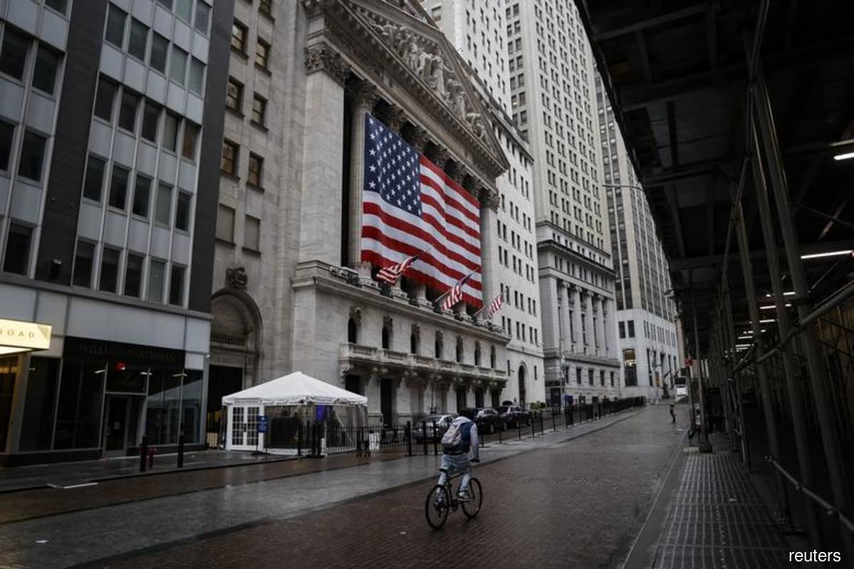 Wall St retreats from all-time highs after strong run; Twitter slumps