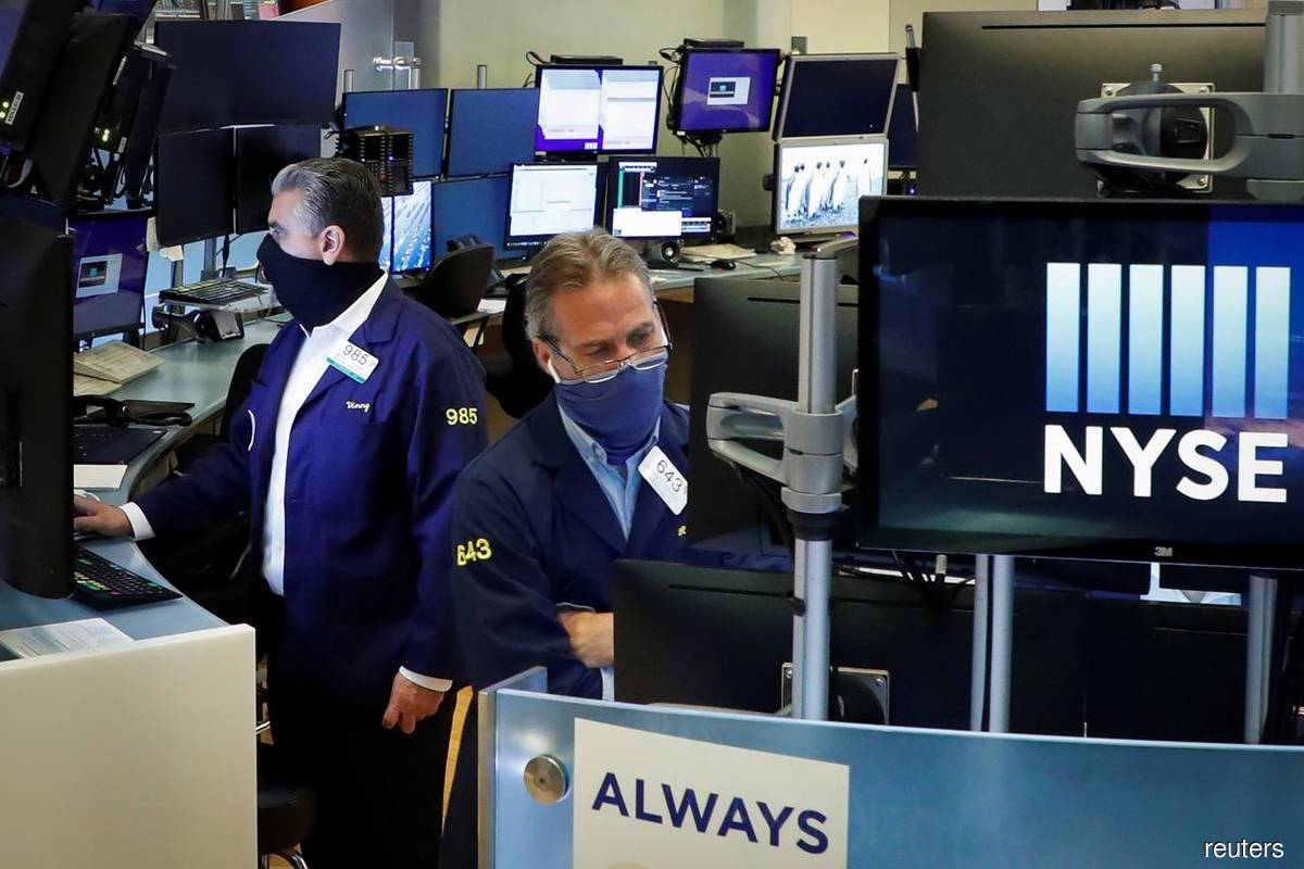 Wall St rises on stimulus bets as labour market rebound cools