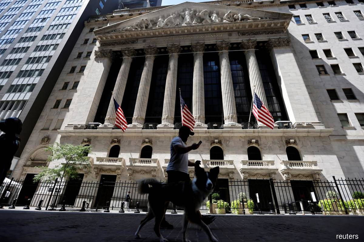 Tech, cyclical stocks pull Wall St lower as China data sours mood