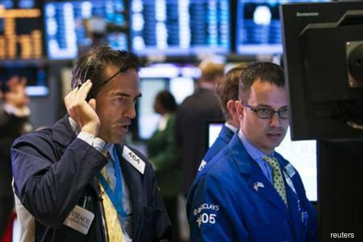 Wall Street gains on easing trade concerns, euro zone stimulus