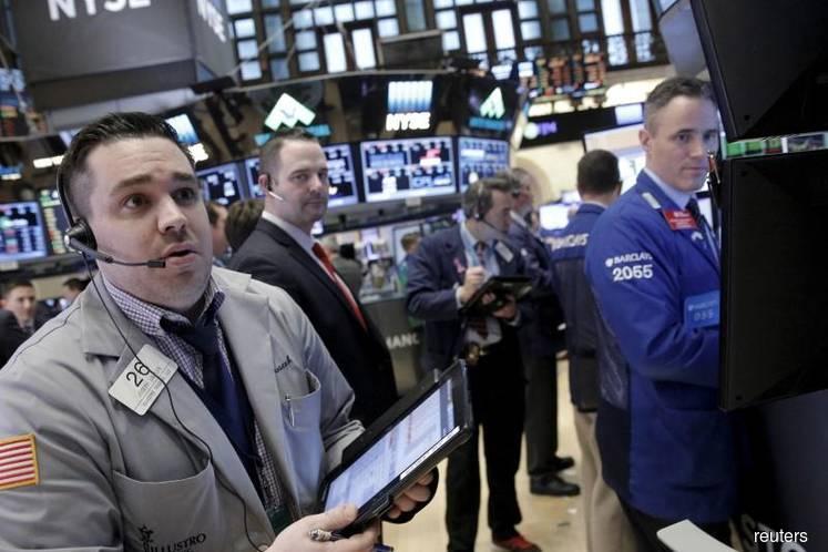 Treasuries rally as stocks decline with dollar