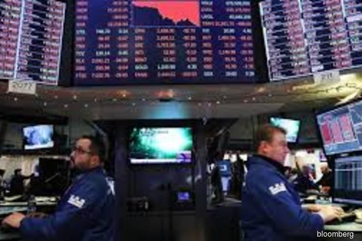 U.S. stocks edge higher as treasury yields dip