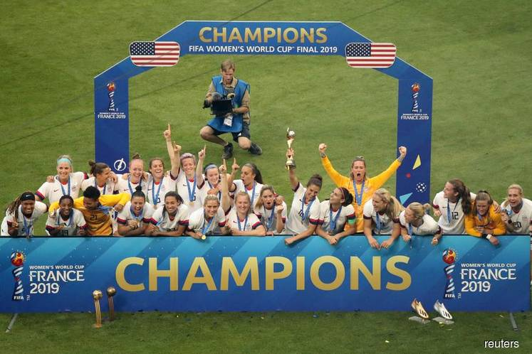 Rapinoe and Lavelle give U.S. fourth World Cup title