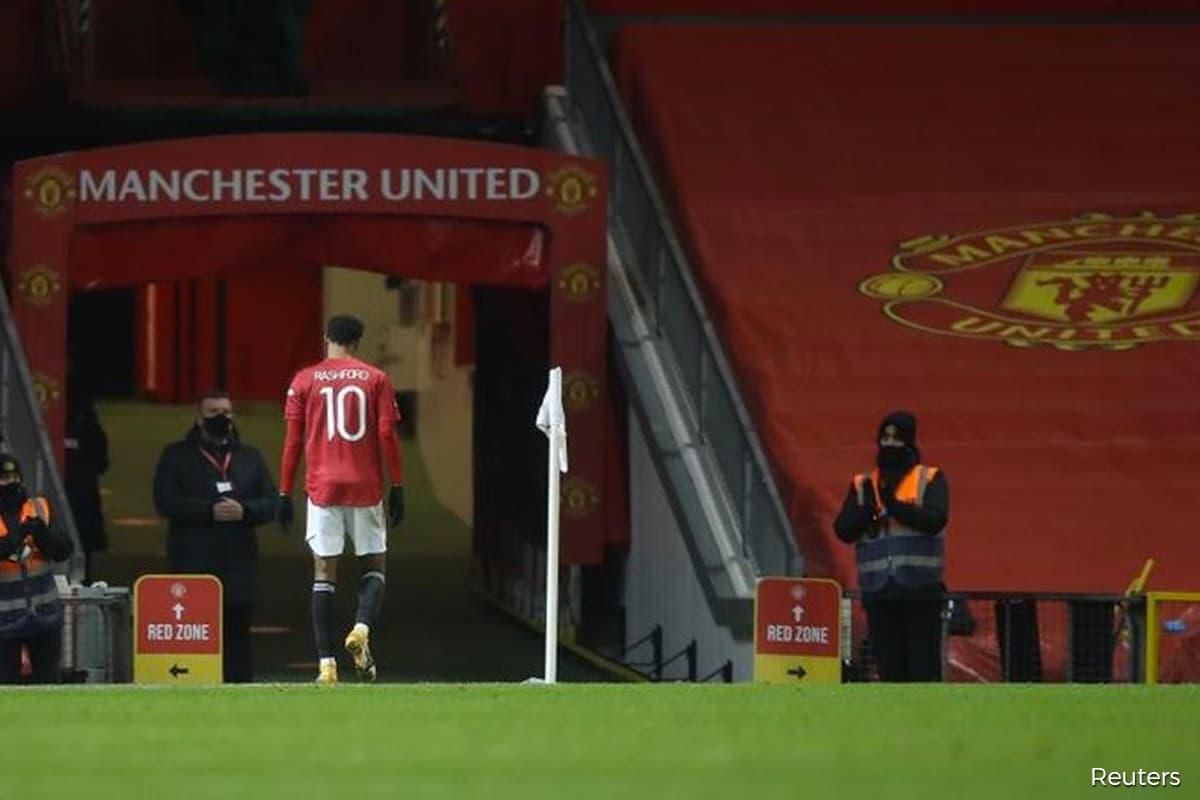 United's Rashford still bothered by foot injury, says Solskjaer