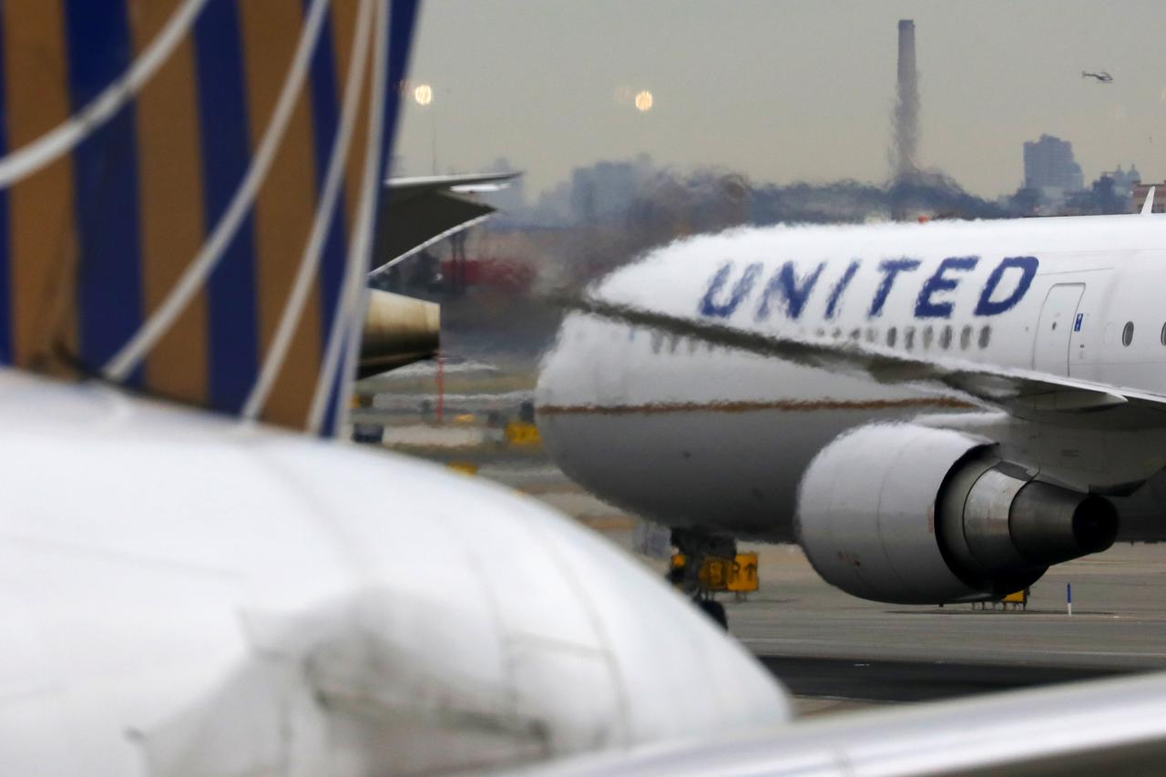 United Airlines CEO says mask wearing will help demand, calls planes 'uniquely safe'