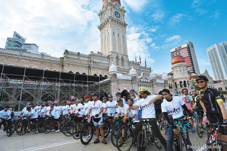 Responsible  Business: Riding for unity