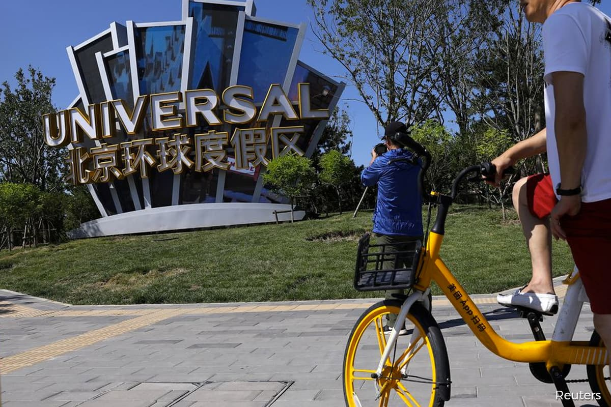 Xi's celebrity crackdown no match for Universal Studios in China