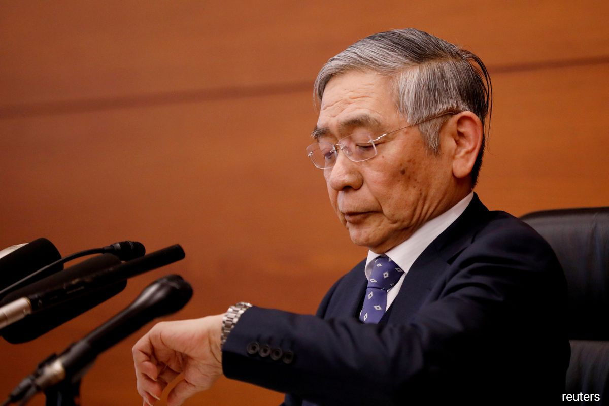 Bank of Japan Governor Haruhiko Kuroda attends a news conference in Tokyo, Japan, January 21, 2020.