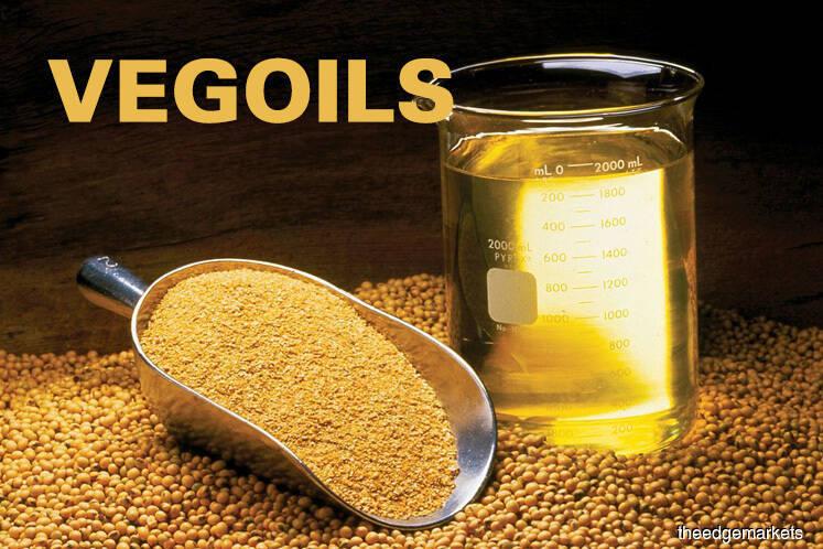 Palm rises on soyoil strength, weaker ringgit