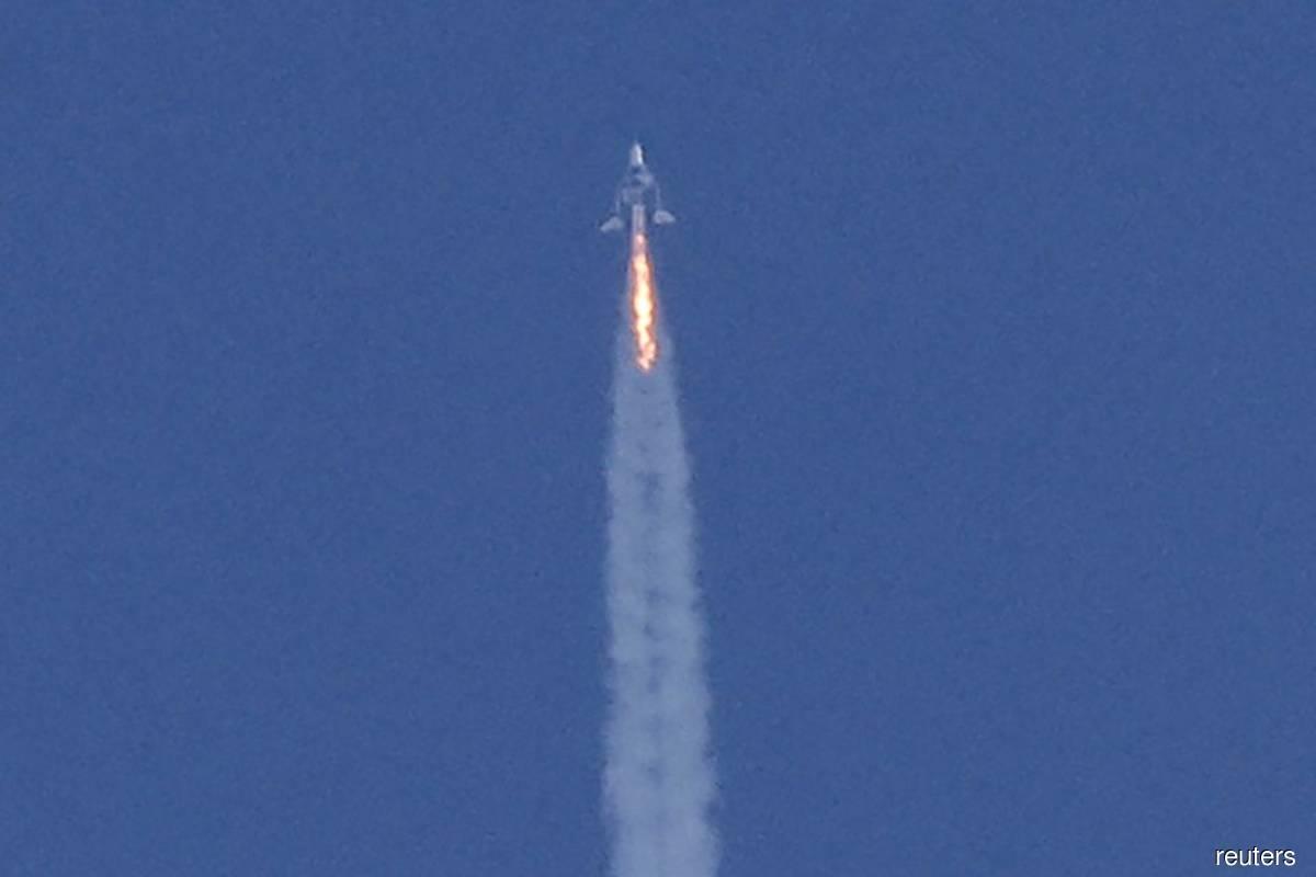 US aviation regulator probing Branson's Virgin Galactic flight deviation