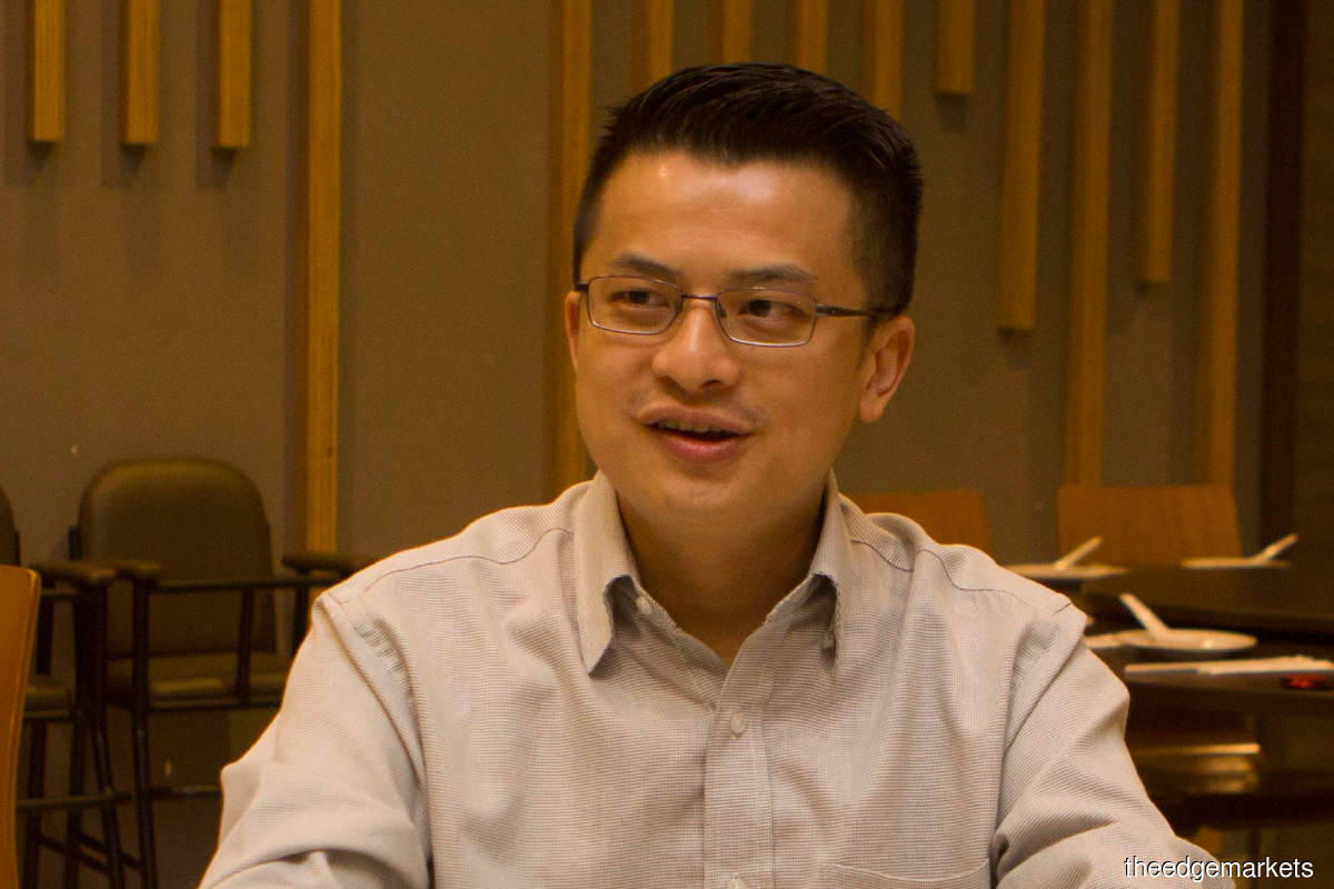 """""""The minimum capital requirement to apply for an IEO licence is RM5 million, which is relatively low compared with the RM100 million for a digital bank licence. The income an IEO platform can generate for its operator is potentially huge as issuers could raise up to RM100 million via digital tokens."""" - Yong (Photo by Patrick Goh/The Edge)"""