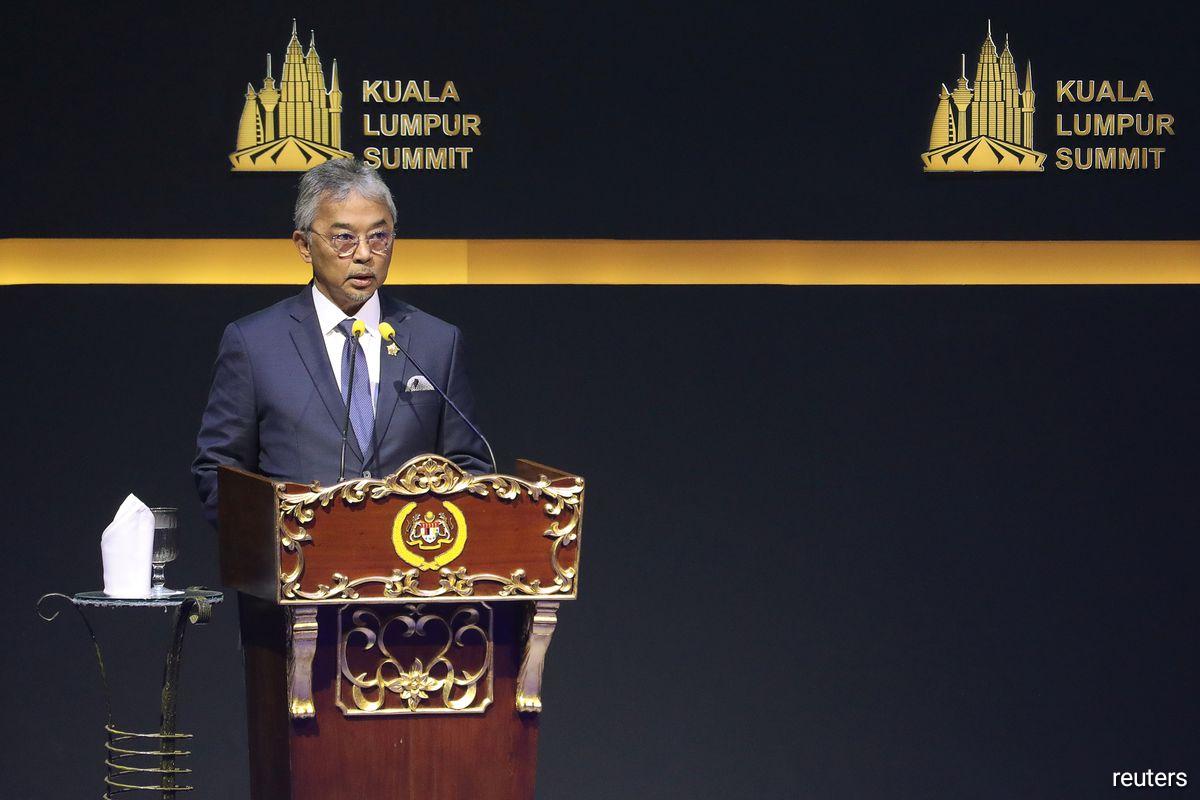 Malaysia's King Sultan Abdullah Sultan Ahmad Shah