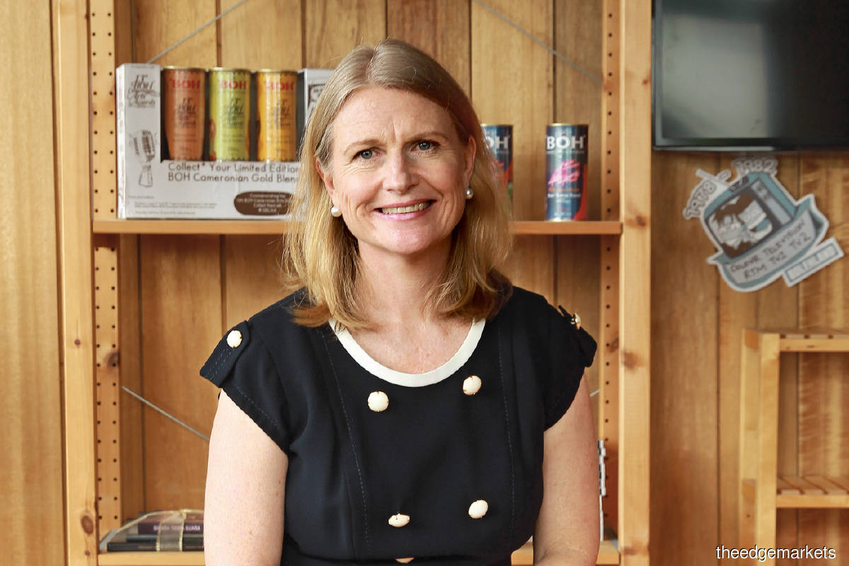 Caroline Russell is executive chairman of BOH Plantations, Malaysia's largest tea producer. The business was founded by her grandfather in 1929.
