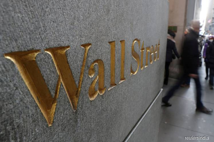S&P 500 eases from record on tech retreat, Wells Fargo slide