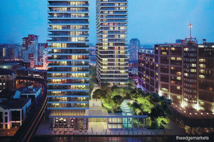 EcoWorld International's Wardian London to be completed early next year