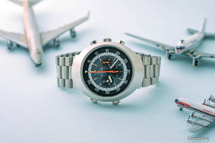 Watches: A look at Michael Crichton's Omega flightmaster, a jet age watch