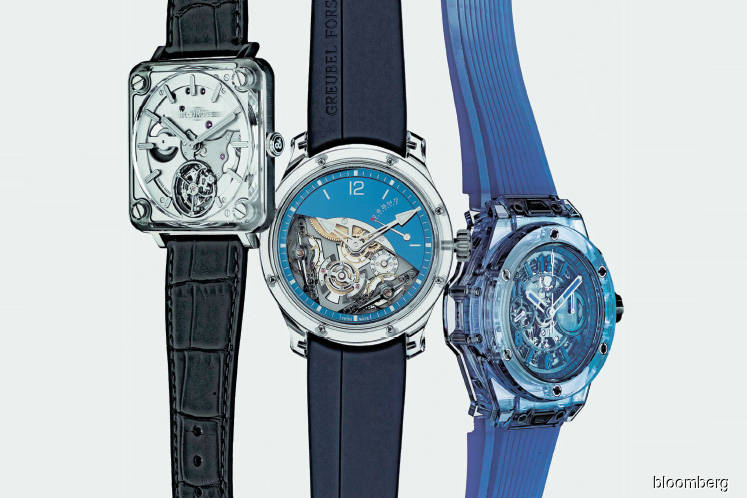 On-trend sapphire watches