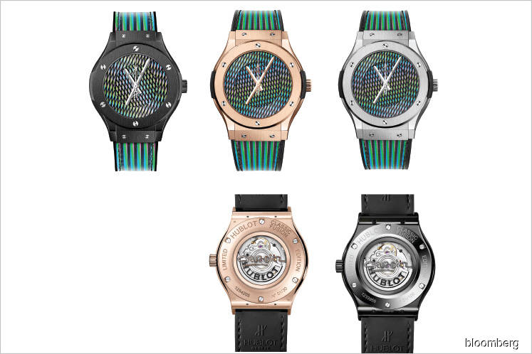 Watches: A hypnotic, colour-changing watch to beat back winter's doldrums