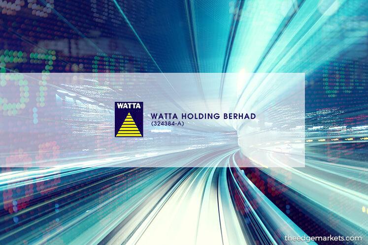 Stock With Momentum: Watta Holding