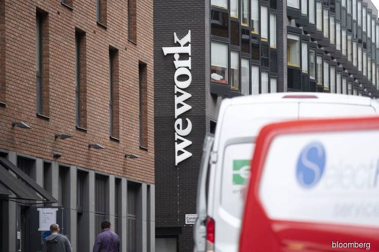 SoftBank plans US$5 bil rescue financing for WeWork
