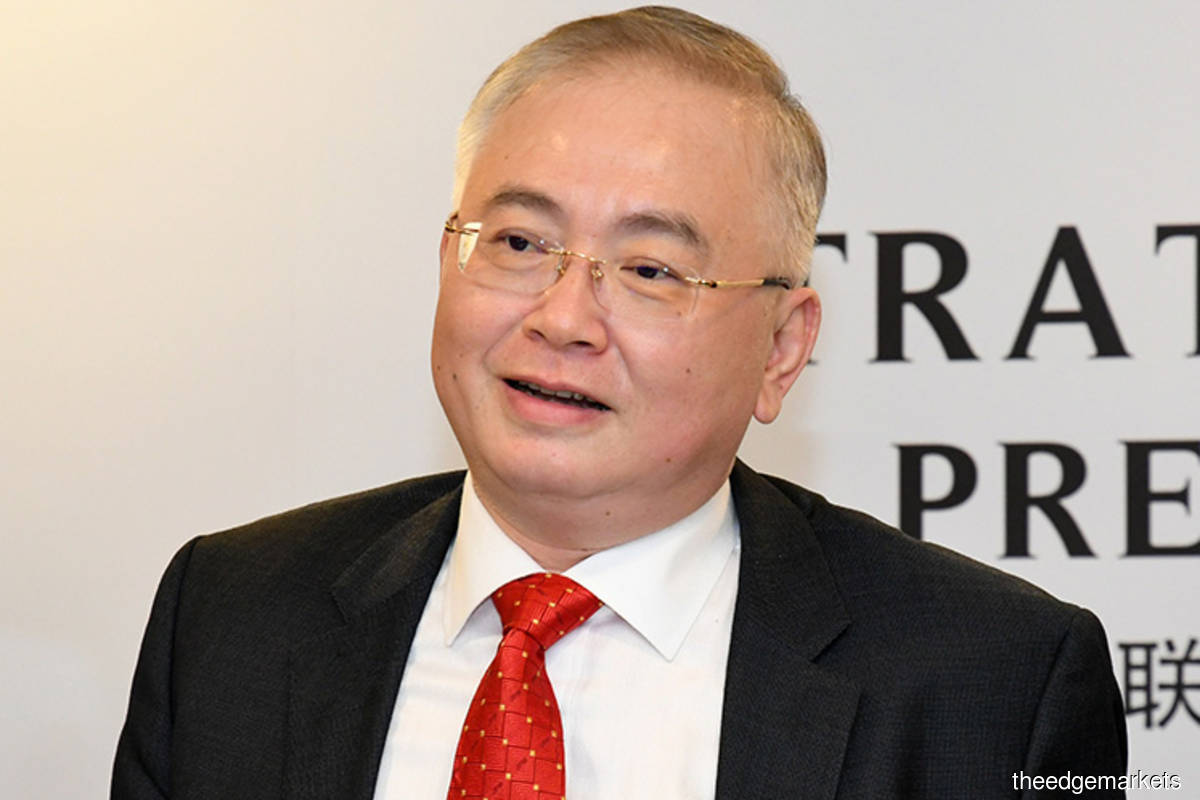 Wee has said that his ministry would reopen the tender for the KVDT2 project after the termination of the contract previously awarded to DM-LTAT. (Photo by The Edge)