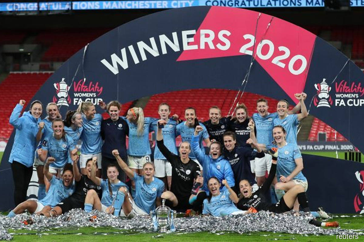 City go the distance to overcome spirited Everton and retain Women's FA Cup